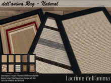 dell'anima Rug - Natural *GIFT*
