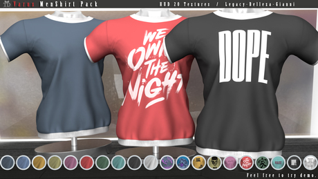 """""""TD"""" Varus Shirt PACK Color & Graphics"""