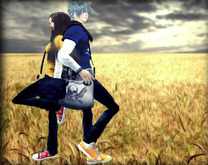 .::Y&R::. design back to back couple pose ball