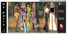 Rita Hippie Top and Pants Outfit - Tonic Slink, Maitreya, Belleza