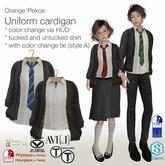 Orange*Pekoe - Uniform cardi (w/ shirt) - 4 houses+