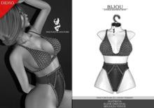 Nocturnal Couture Bijou Bathing Suit - Black DEMO