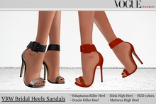 PROMO! VRW Bridal Heels Sandals Maitreya Slink Ocacin Killer