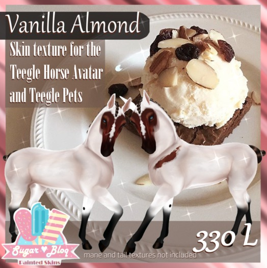 Vanilla Almond-skin for teeglepet/avatar