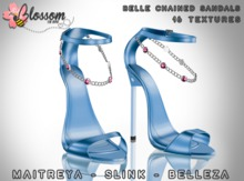 ::BLOSSOM:: Belle Chained Sandals [FATPACK]