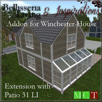 [L&I] Addon Winchester Extension w. Patio 31 LI