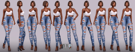 Overlow Poses - Pack 103