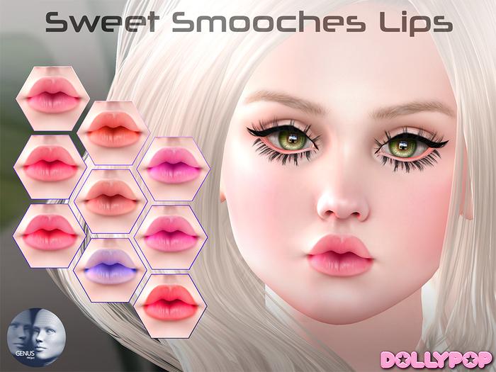 ~Dollypop~ Sweet Smooches Lips GENUS HD