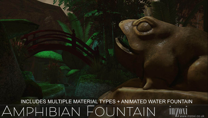 [inZoxi] - Amphibian Fountain