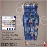 Baiastice_Denim Overalls-Blue