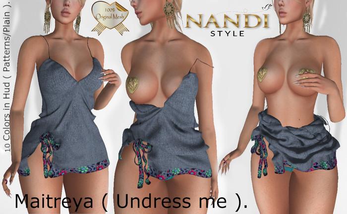 Bag Dress  Gairah - Undress me - *Nandi Style