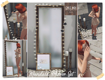 Mandala Mirror Set ♥ CHEZ MOI