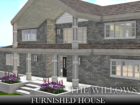 TMG - THE WILLOWS FURNISHED HOUSE* with 381 animations