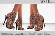 PROMO! VRW Diamonds Luxury Heels Maitreya Belleza Slink  Ocacin