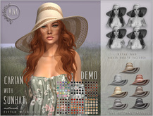 DEMO - MINA - Carian Sunhat - All colors