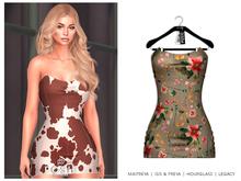 POSIE - Gisele Croset Mini Dress .TROPICAL