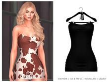 POSIE - Gisele Croset Mini Dress .ONYX