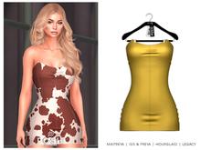 POSIE - Gisele Croset Mini Dress .SUN