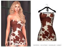 POSIE - Gisele Croset Mini Dress .COW