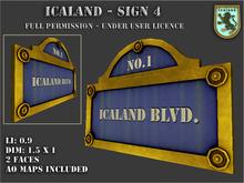 Icaland - Sign 4