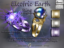 ⚡Electric Earth: Womens Ring - Bento version
