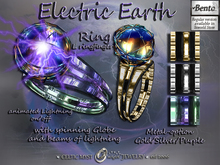 ⚡Electric Earth - Mens Ring - Bento Version