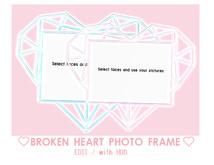 = DAE = Broken heart frame