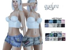 Eyelure Sassy Denim Skirt with Solids HUD