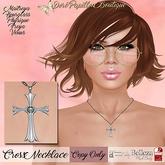 DPB Cross Necklace - Silver