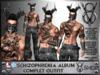 +V8 SHOP+ SCHIZOPHRENIA ALBUM COMPLET OUTFIT+