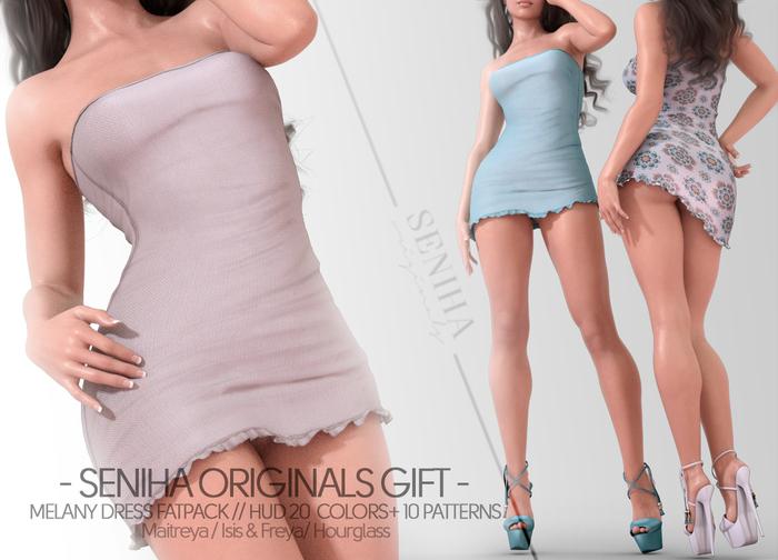 Seniha. Melany Dress // GIFT FATPACK