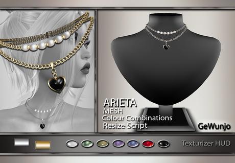GeWunjo : ARIETA necklace