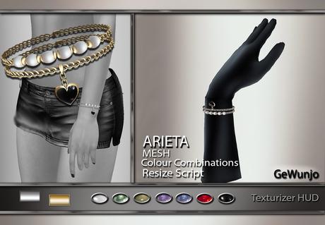 GeWunjo : ARIETA bracelets