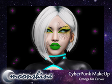 ::moonshine:: CyberPunk MakeUp Omega (catwa)