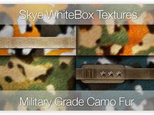 Military Grade Camo Fur  - 72 Skye WhiteBox Full Perms Seamless Textures