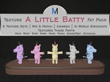 AniMates - Cupcake - A Little Batty - Texture Fat Pack