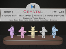 AniMates - Cupcake - Crystal - Texture Fat Pack