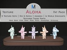 AniMates - Cupcake - Aloha - Texture Fat Pack