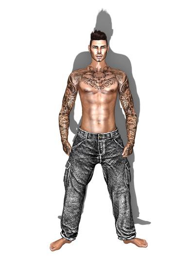 MN Grey jeans for men Altamura