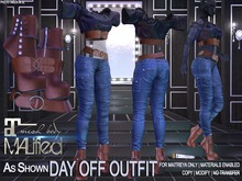 MALified - Day Off Outfit: Maitreya Only