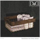 Mandarin SpA  Towel basket