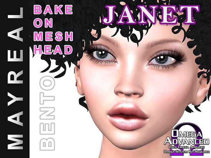 MAYREAL bento mesh head JANET