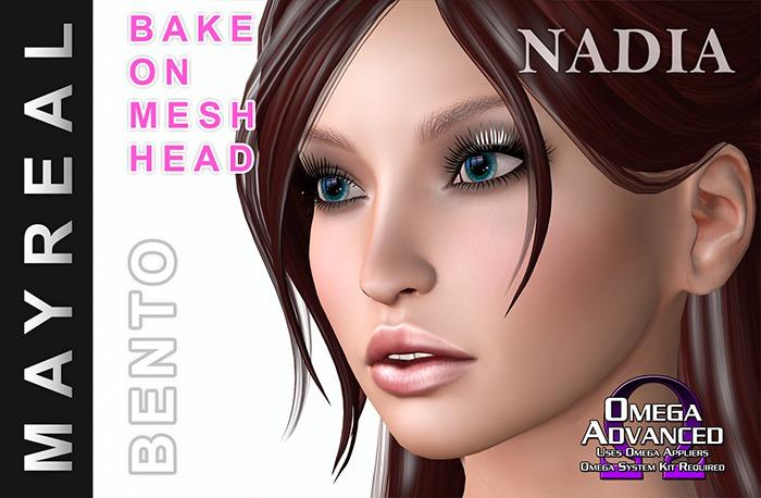 MAYREAL Bento Mesh Head Nadia