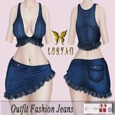 ..LORYAN.. Outfit Fashion Jeans Blue