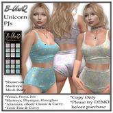 B-UniQ Womens - Unicorn PJs