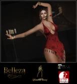 HautePinay Tango Dress II [FEMME FATALE - RED]