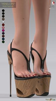 "**UTOPIA@Design** - ""PENELOPE"" - Multi-Texture - Maitreya, Slink, Belleza"