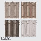 tarte. fence display