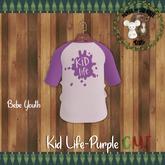 -M&S Kids- Kid Life Tee Purple