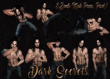 Dark Secrets - Male Pose Pack 1 - Bento poses - ADD
